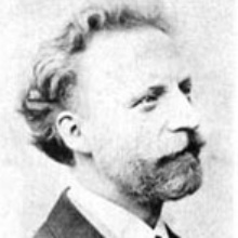 Portraitaufnahme Gustav Bauernfeind