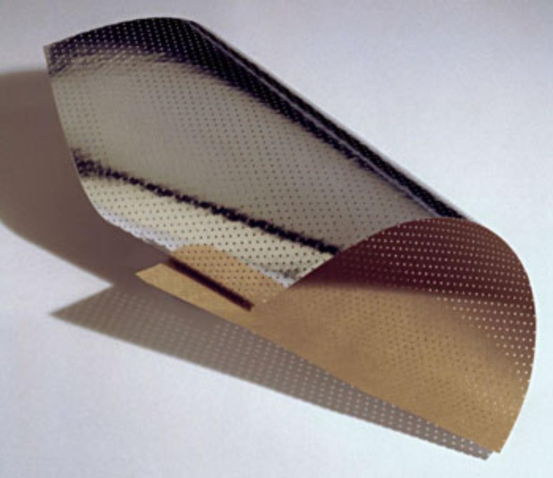 H-Papier. Hersteller: Kämmerer Gmbh, Osnabrück. Man erkennt die gestanzten Löcher durch das mit Aluminium (Außenseite) kaschierte Kabelpapier.