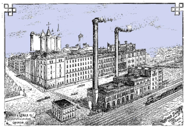 Die Conrad Seipp Brewery in Chicago, entworfen und realisiert vom Büro Wolf und Lehle.